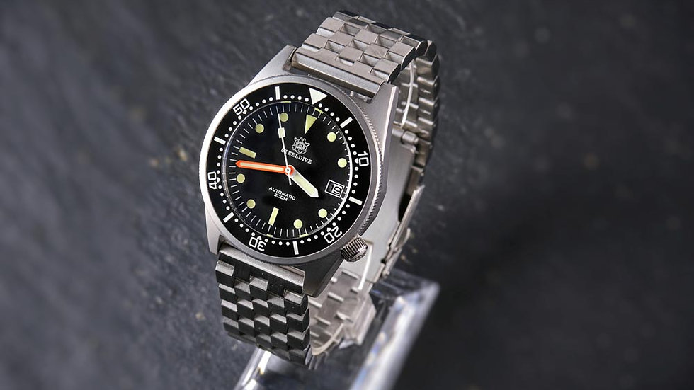 "STEELDIVE SD1979 ""50 Atmos"" Automatic 200m Diver Watch"
