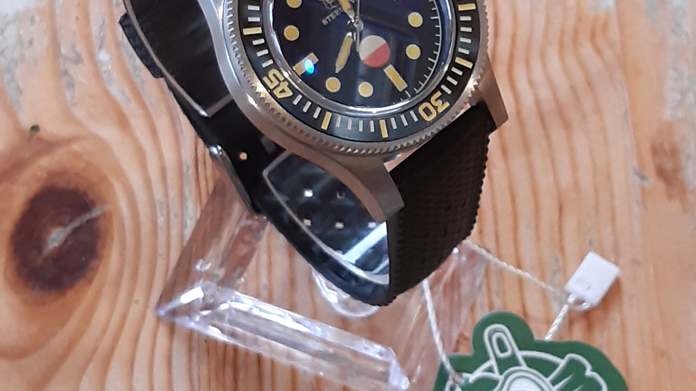 """STEELDIVE SD1952T Serie """"Fifty Fathoms"""" Automatic 300m Diver Watch"""
