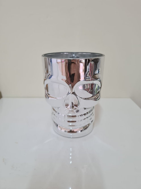 Taza de vidrio con calavera 510 ml - Rock Style (3 modelos)
