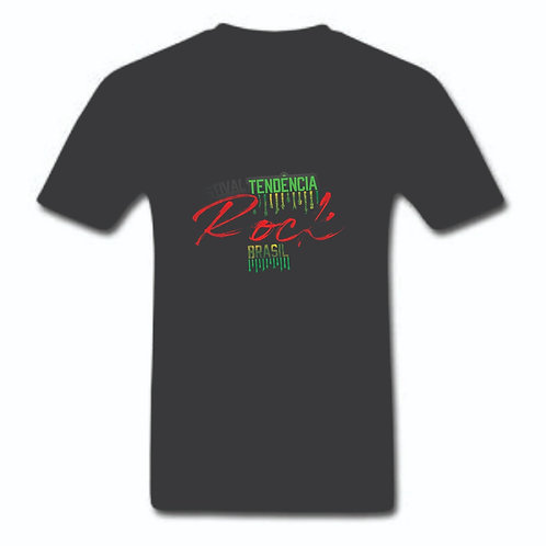 Camiseta Preta Estampa FTRBR (Na Busca)