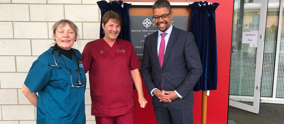 Official Opening of our new ED