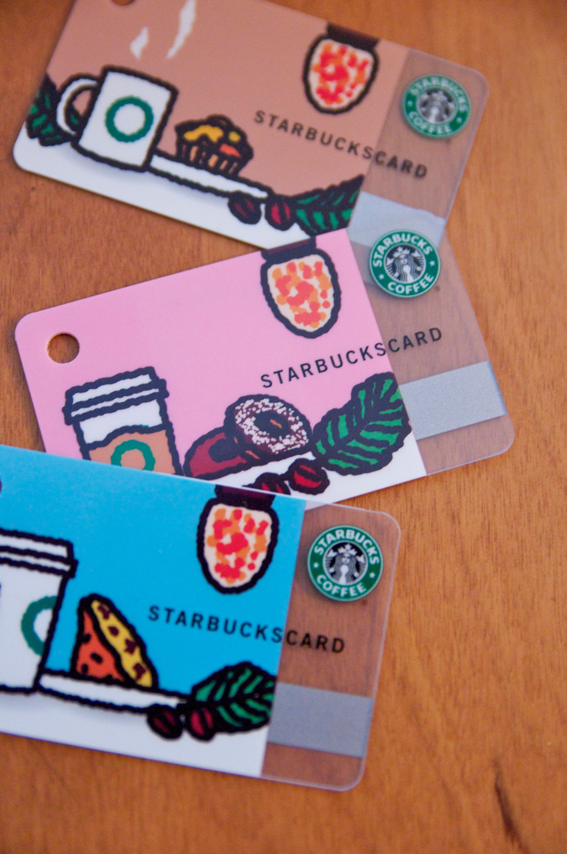 MINI STARBCUKS CARD