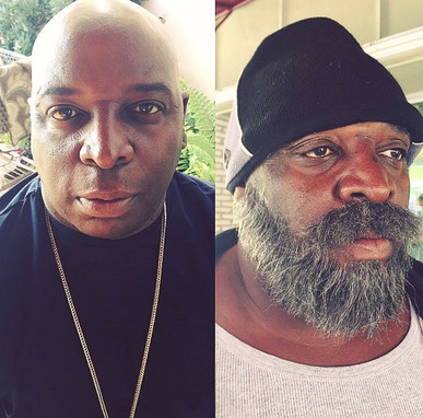 Aging and facial hair laying