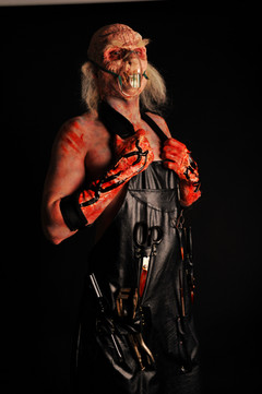 Full facial and skull prosthetic