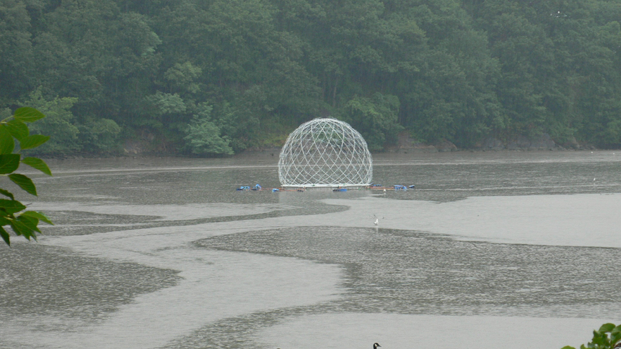harvest dome at low tide - Copy