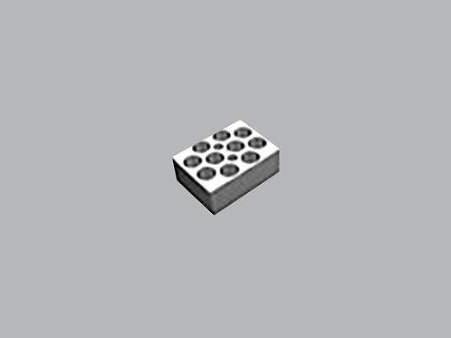 Dry Bath Block - 10x10/15ml Half Block