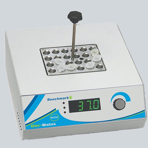 Benchmark Digital Dry Bath, single position, without blocks