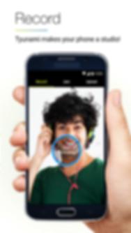 Tyunami Android App - Charts
