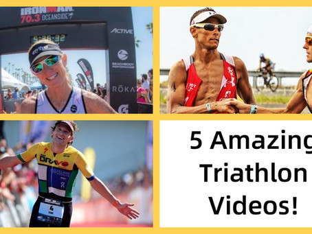 5 Awesome triathlon videos