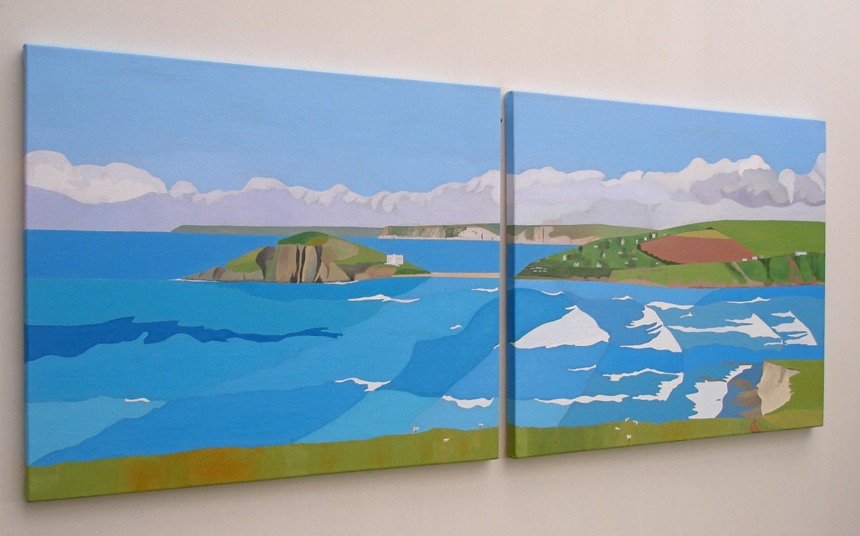 Burgh Island, promise of Summer SOLD