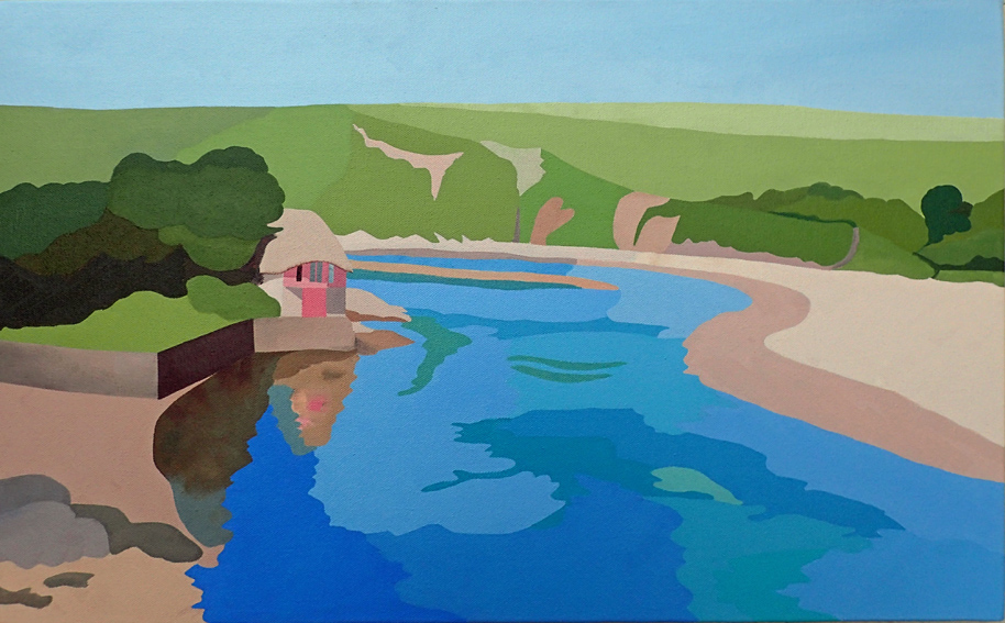 Bantham, the boathouse on the bend