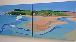 Erme Estuary from Wonwell