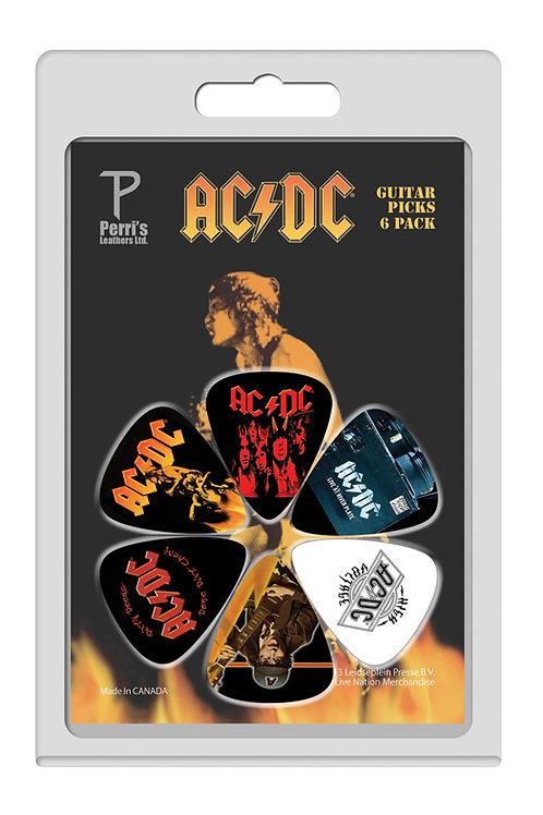 AC/DC Official Licensed Picks 6Pcs. Set 4