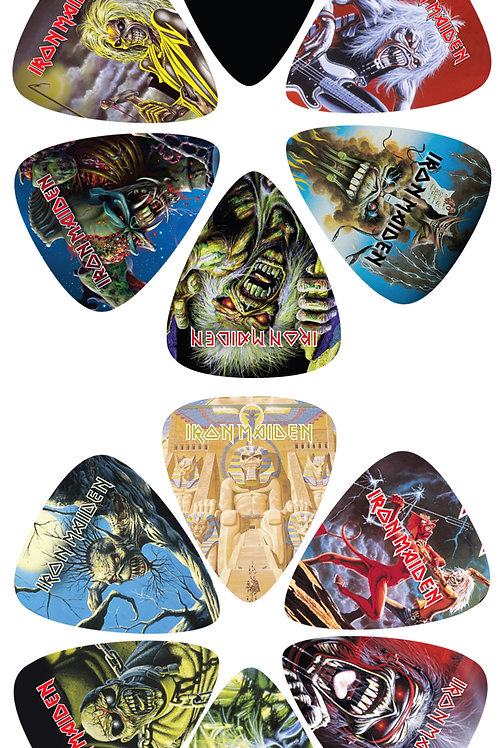 IRON MAIDEN Official Licensed Picks 12Pcs. Set