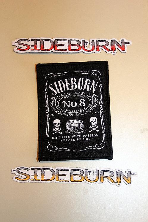 Sideburn Patches Set (#8 + 1 Logos) + Free Logo