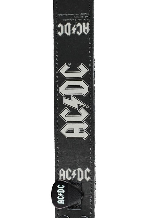 AC/DC Official Leather Wristband 1