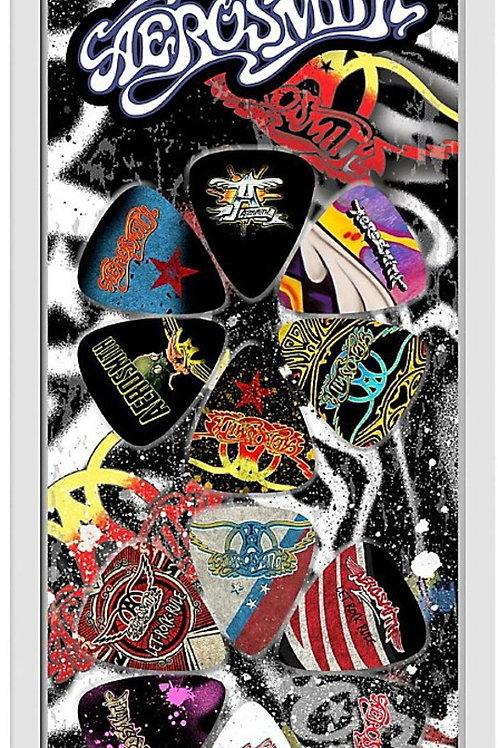 AEROSMITH Official Licensed Picks 12Pcs. Set