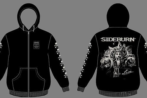 Hooded Zip Shirt SIDEBURN #8 LIVE