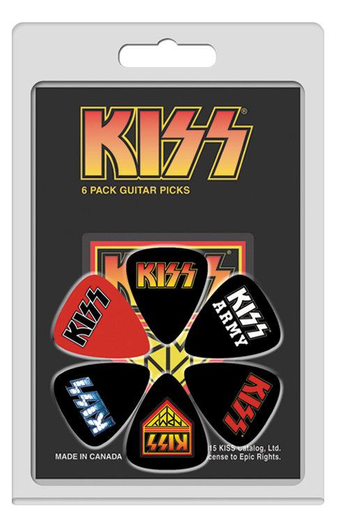 KISS Official Licensed Picks 6Pcs. Set 2