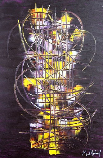 peinture abstraite connue