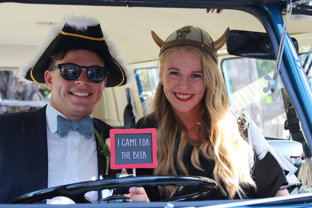 Kombi & Beetle Wedding Car Hire by Fisch & Co. - Emily & Michael (100)