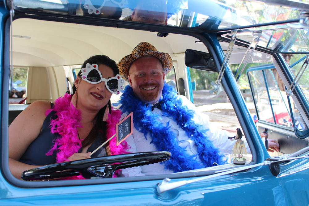 Kombi & Beetle Wedding Car Hire by Fisch & Co. - Emily & Michael (69)