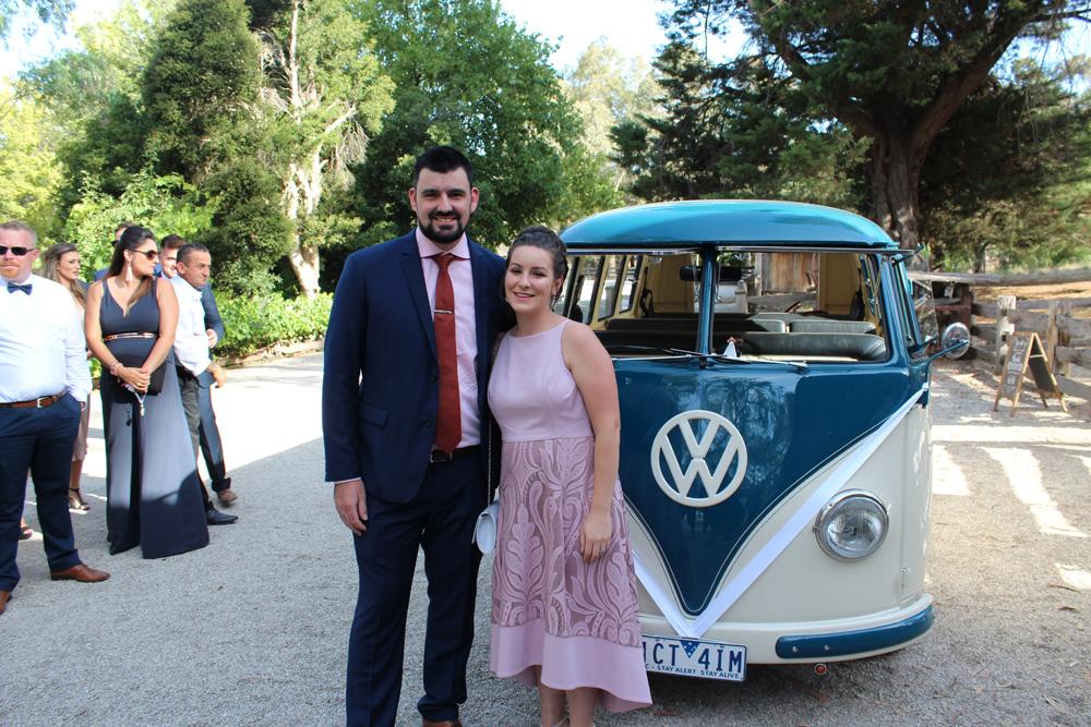 Kombi & Beetle Wedding Car Hire by Fisch & Co. - Emily & Michael (61)