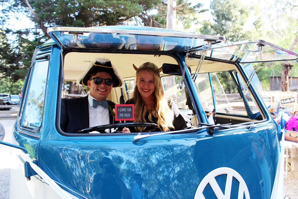 Kombi & Beetle Wedding Car Hire by Fisch & Co. - Emily & Michael (99)