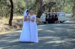 Kombi & Beetle Weddding Car Hire by Fisch & Co. - Jessica & Emma (41)