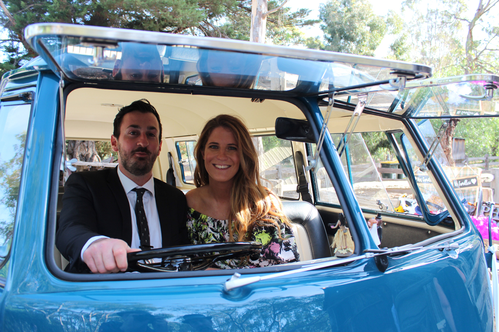Kombi & Beetle Wedding Car Hire by Fisch & Co. - Emily & Michael (83)