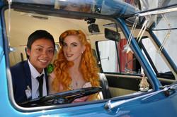 Kombi & Beetle Wedding Car Hire by Fisch