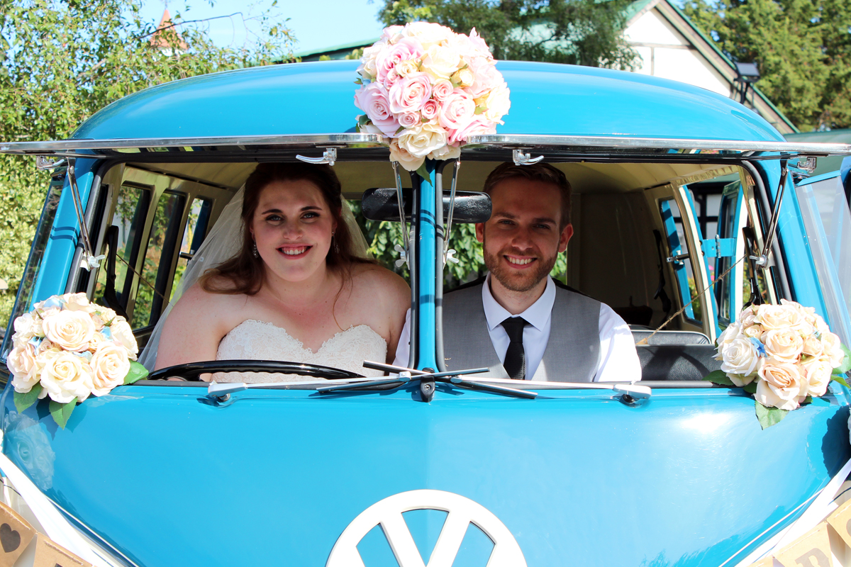 & Beetle Wedding Car Hire by Fisch & Co. - Meg & Chris (51)