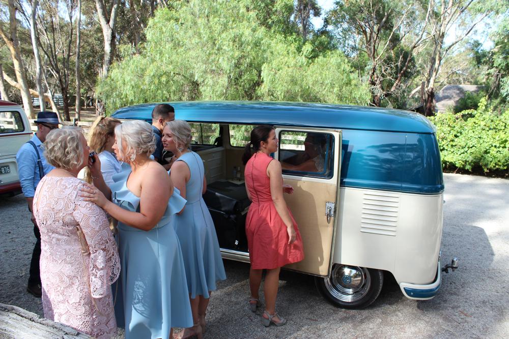 Kombi & Beetle Wedding Car Hire by Fisch & Co. - Emily & Michael (26)