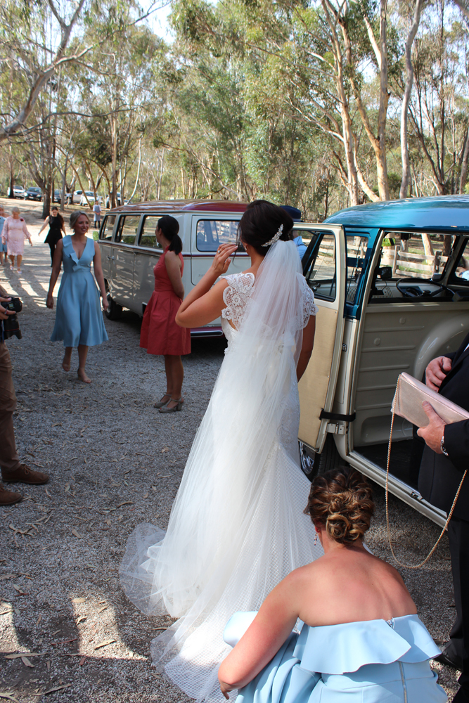 Kombi & Beetle Wedding Car Hire by Fisch & Co. - Emily & Michael (30)