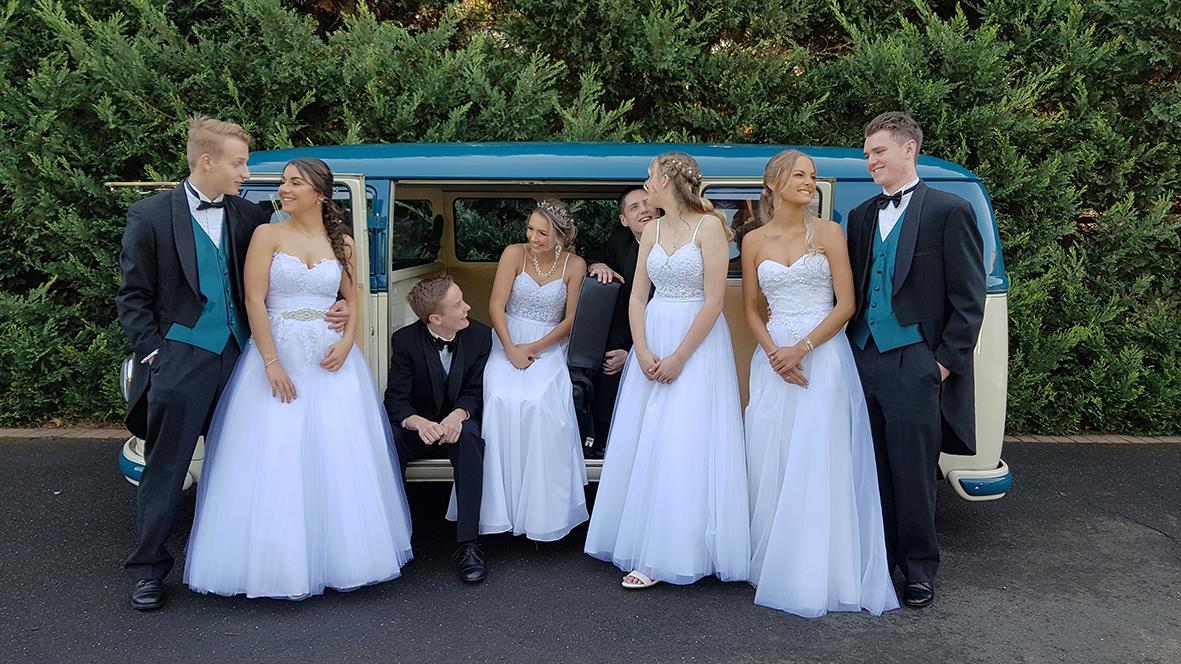 Casey Grammer Debutante Ball - Photo's by Kombi & Beetle Wedding & Debutante Car Hire