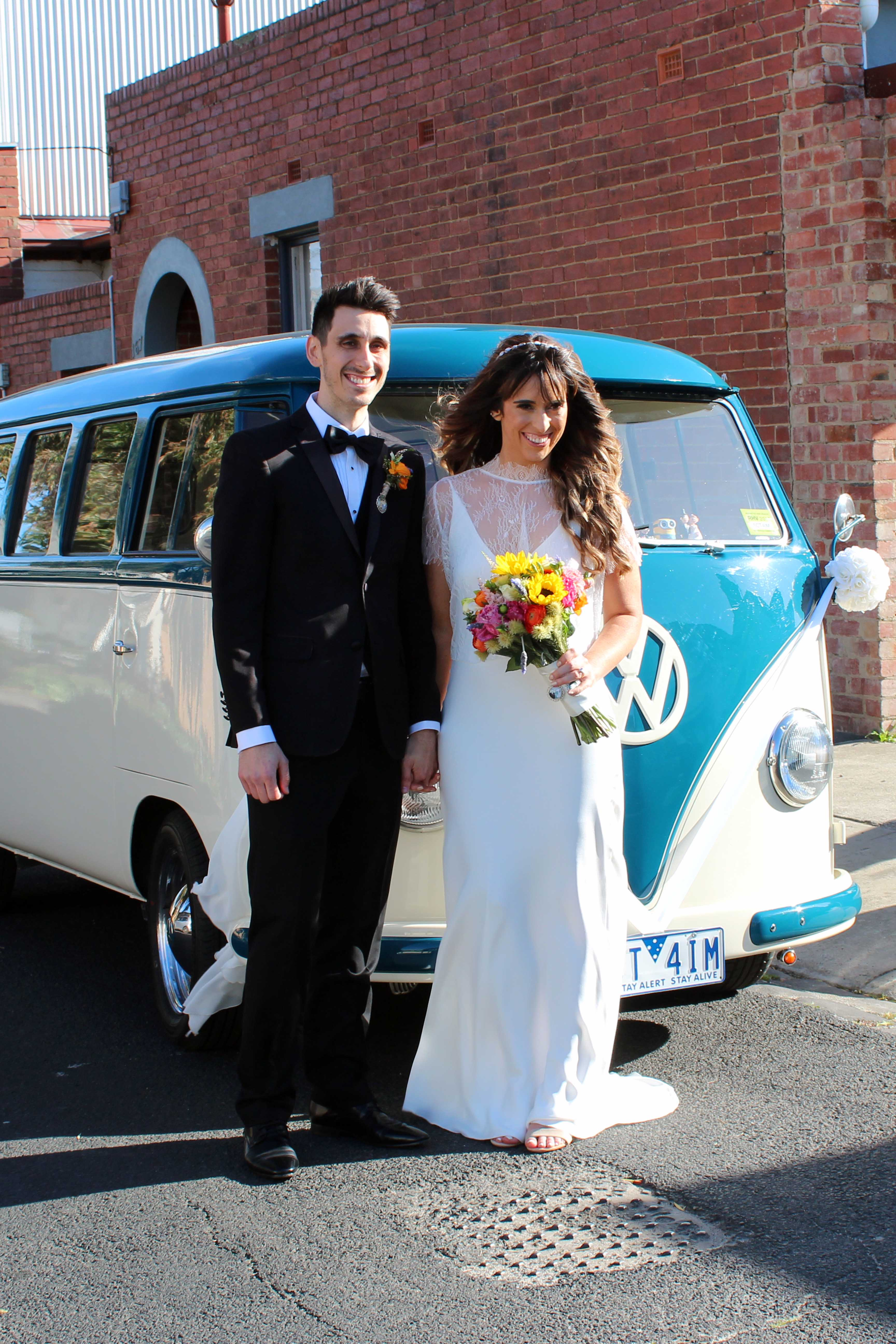 Kombi & Beetle Wedding Car Hire by Fisch & Co. - Brook & Nick (14)