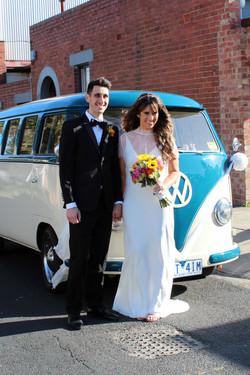 Kombi & Beetle Wedding Car Hire by Fisch & Co. - Brook & Nick (14)