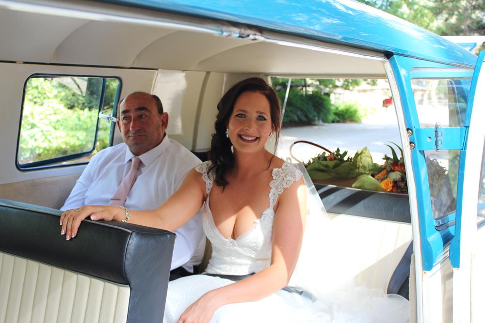 Kombi & Beetle Wedding Car Hire by Fisch & Co. - Emily & Michael (28)