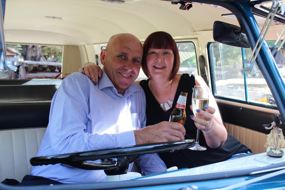 Kombi & Beetle Wedding Car Hire by Fisch & Co. - Emily & Michael (87)