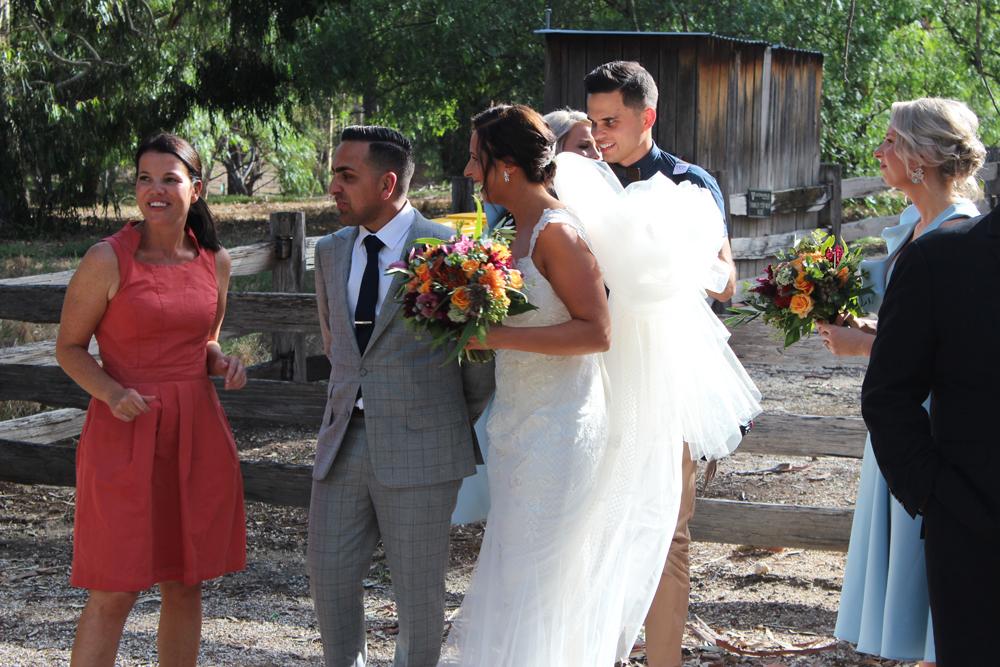 Kombi & Beetle Wedding Car Hire by Fisch & Co. - Emily & Michael (35)
