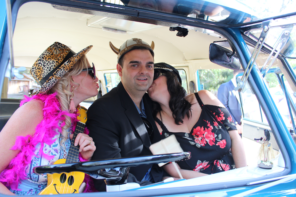 Kombi & Beetle Wedding Car Hire by Fisch & Co. - Emily & Michael (76)