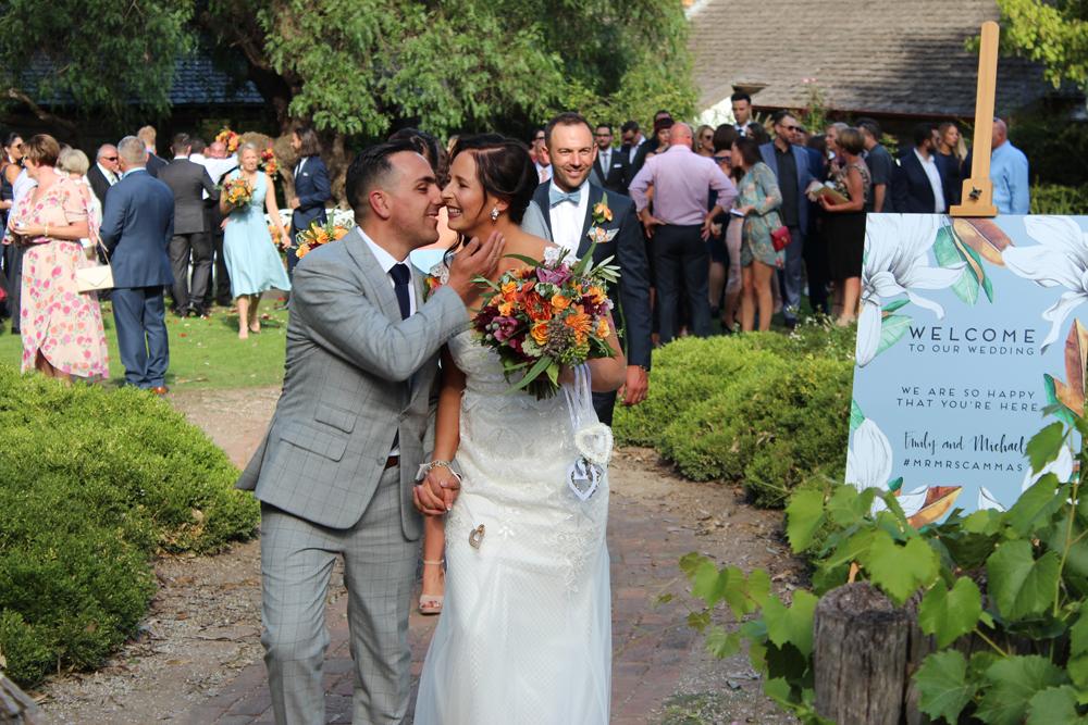 Kombi & Beetle Wedding Car Hire by Fisch & Co. - Emily & Michael (33)