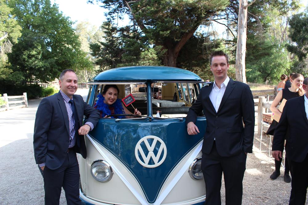 Kombi & Beetle Wedding Car Hire by Fisch & Co. - Emily & Michael (42)