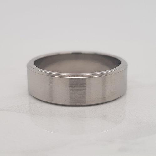 Karsyn gents mens titanium wedding band ring in Melbourne