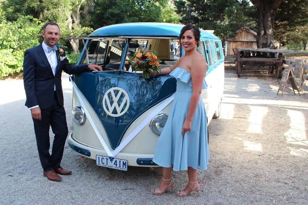 Kombi & Beetle Wedding Car Hire by Fisch & Co. - Emily & Michael (90)