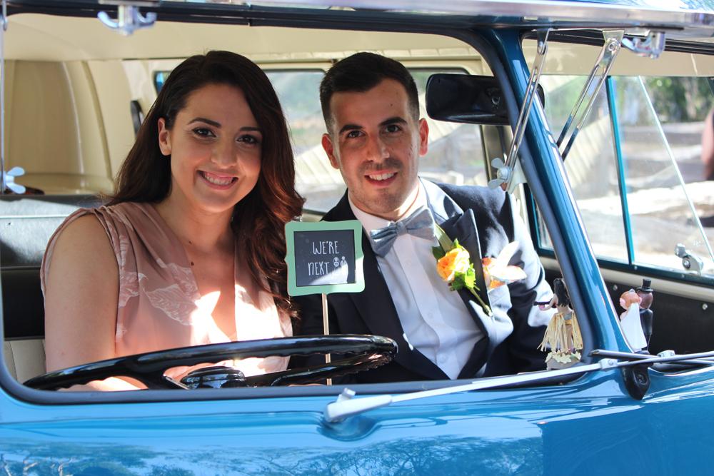 Kombi & Beetle Wedding Car Hire by Fisch & Co. - Emily & Michael (92)