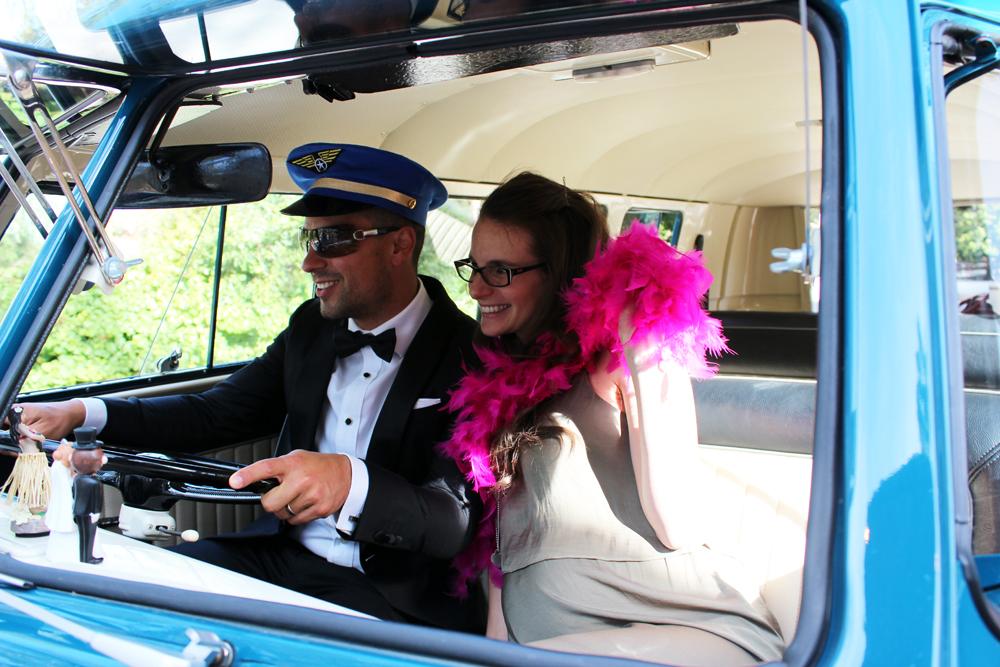 Kombi & Beetle Wedding Car Hire by Fisch & Co. - Emily & Michael (40)