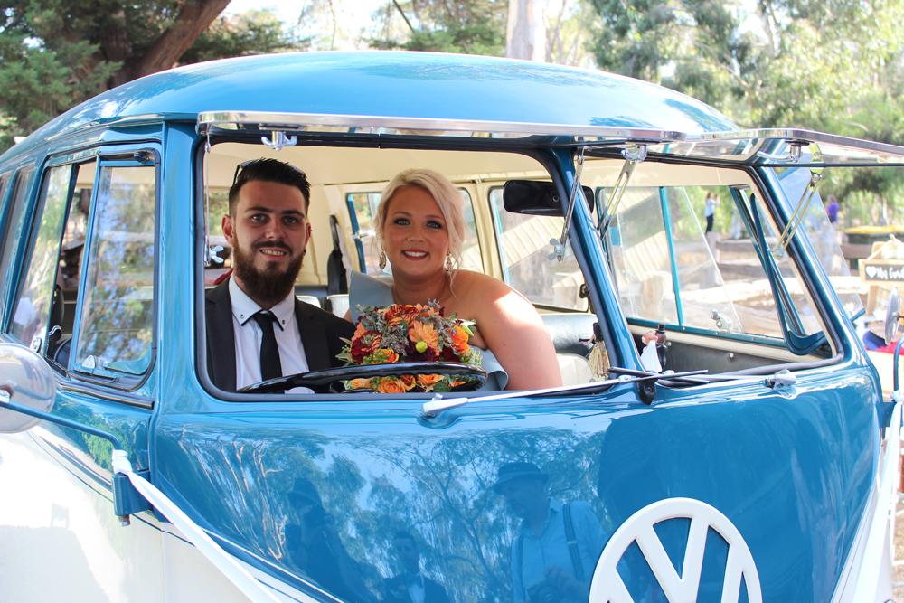 Kombi & Beetle Wedding Car Hire by Fisch & Co. - Emily & Michael (96)