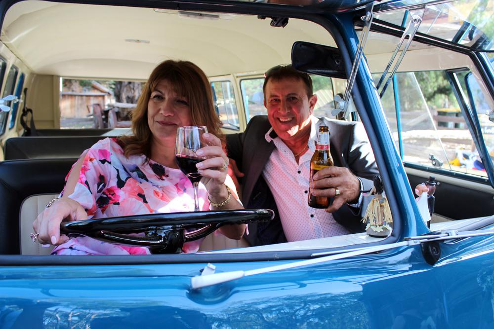 Kombi & Beetle Wedding Car Hire by Fisch & Co. - Emily & Michael (85)