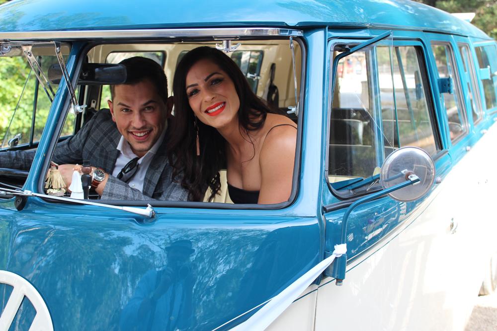 Kombi & Beetle Wedding Car Hire by Fisch & Co. - Emily & Michael (38)